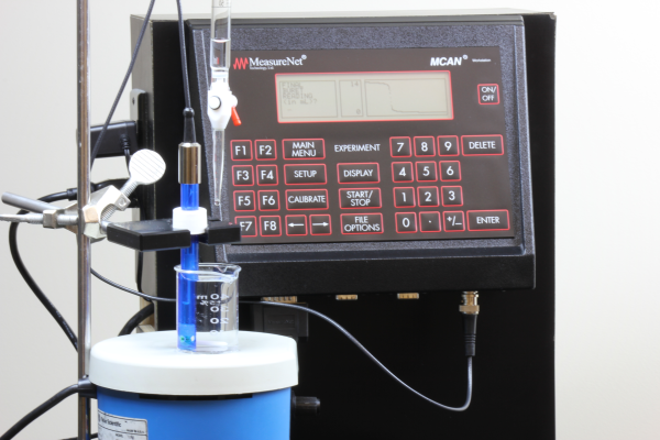pH titration with Drop Counter